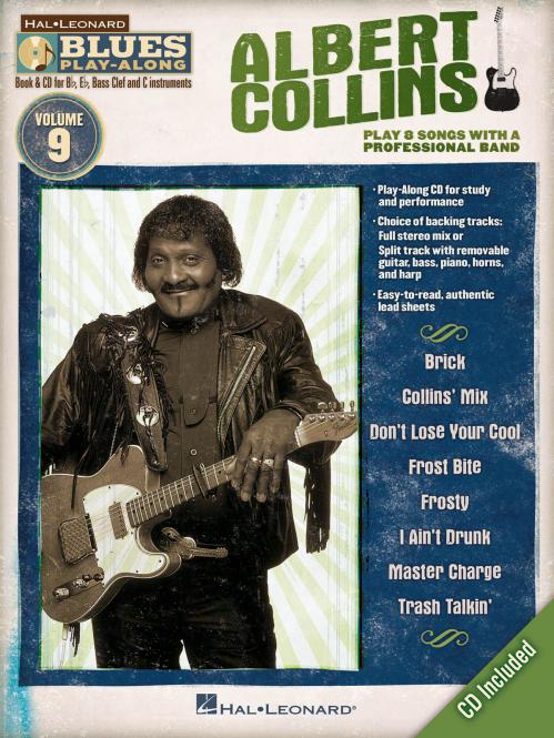 Blues Play-Along Vol. 9: Albert Collins