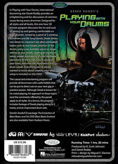 Derek Roddy's Playing With Your Drums