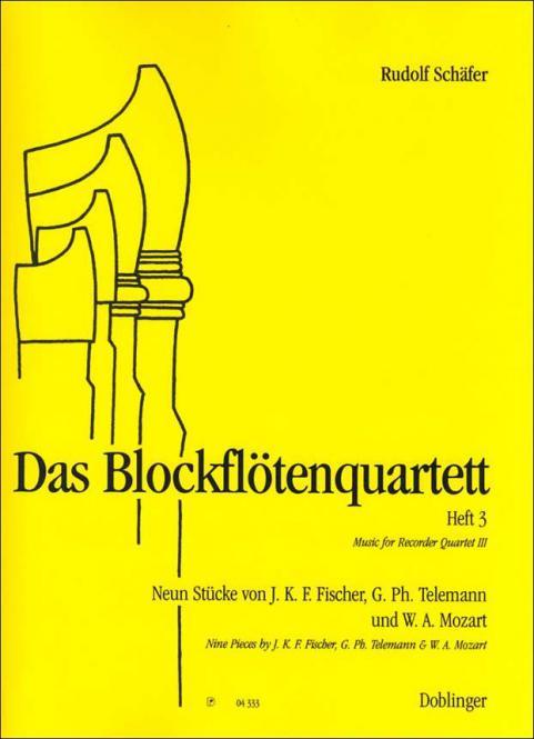 Das Blockflötenquartett 3