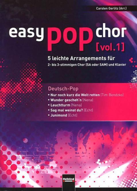 Easy Pop Chor 1: Deutsch Pop