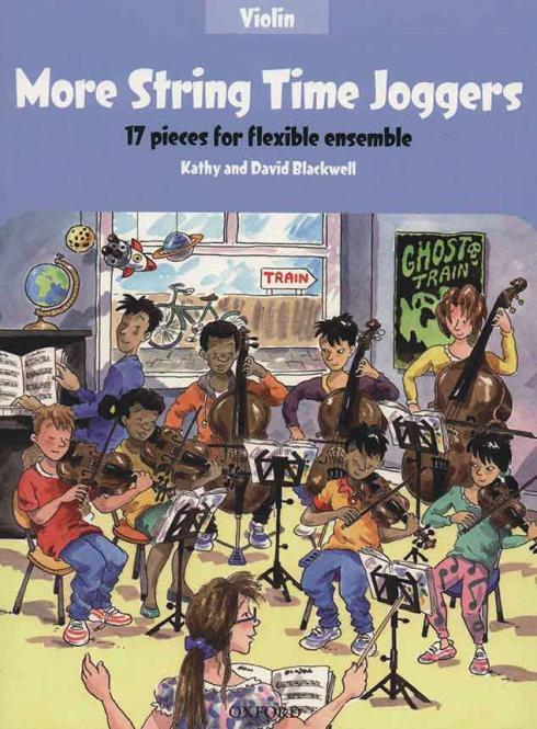More String Time Joggers - Violin