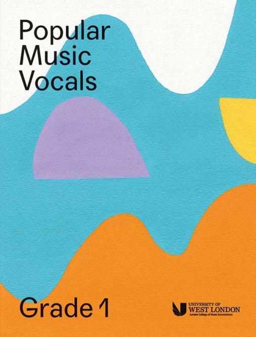 Popular Music Vocals - Grade 1