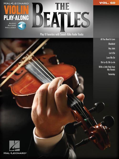 Violin Play-Along Vol. 60: The Beatles