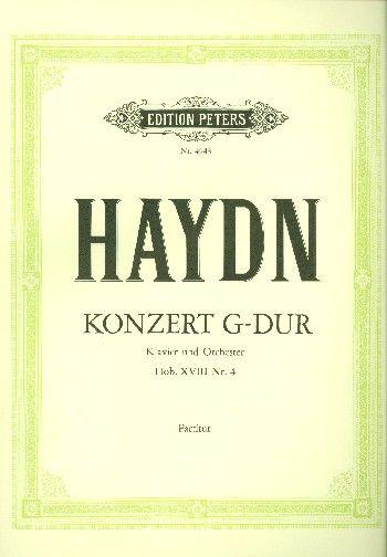 Piano Concerto No. 2 in G Hob. XVIII/4