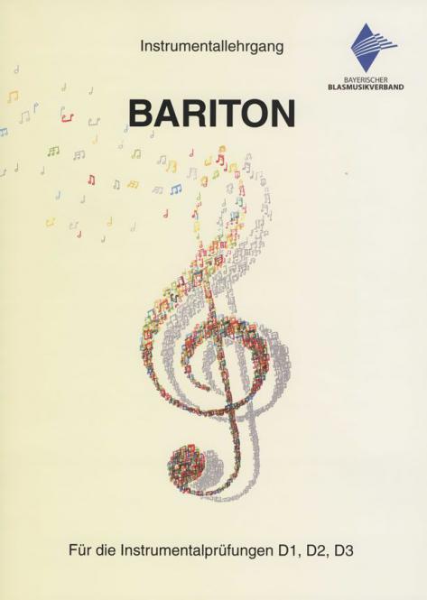 D-Literatur: Instrumentallehrgang Bariton - Neuausgabe 2018