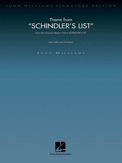 Theme from Schindler's List (Cello and Orchestra)