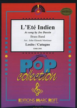 L Ete Indien Joe Dassin Sheet Music For Brass Band