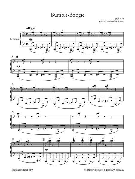Boogie music pdf sheet bumble Boogie Free