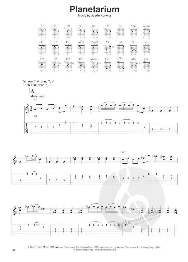 La La Land Easy Guitar