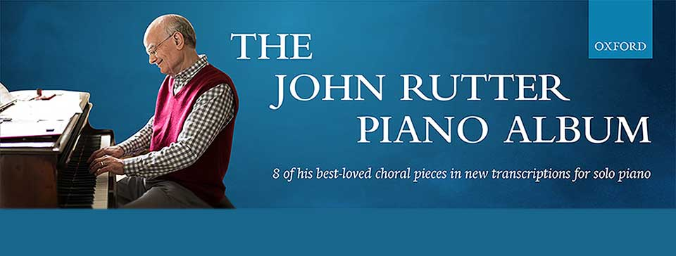 Banner - The John Rutter Piano Album (de en fr it)