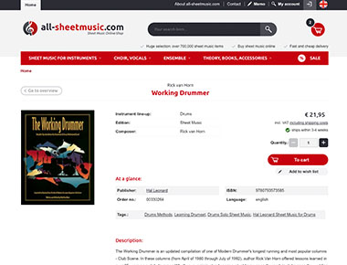 Buy music sheets online