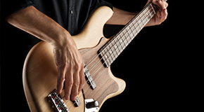 Sheet music for the electric bass
