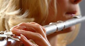 Sheet music for flutes
