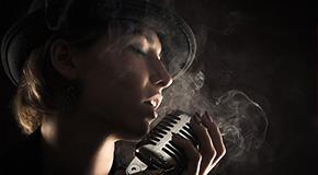 Singing sheet music