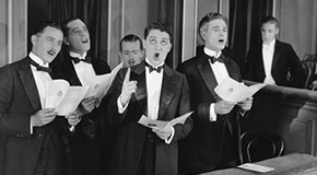 Sheet music for male voice choirs