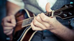 Sheet music for the mandolin