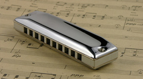 Sheet music for the mouth harmonica