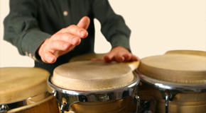 Sheet music for percussion