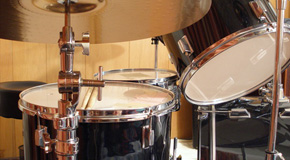 Sheet music for drums